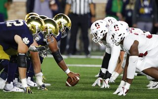 Notre Dame-Preparing For Tigers Football