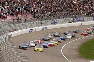 NASCAR Las Vegas Nationwide Auto Racing