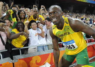 Bolt The Distraction Olympics Athletics