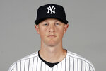 FILE - This is a 2020 file photo showing Dj LeMahieu of the New York Yankees baseball team. The New York Yankees and AL batting champion DJ LeMahieu worked Friday, Jan. 15, 2021, to put in place a six-year contract worth about $90 million, a person familiar with the deal told The Associated Press. The person spoke on condition of anonymity because the agreement is subject to a successful physical.  (AP Photo/Frank Franklin II, File)