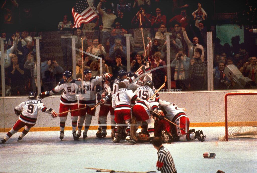 Associated Press Sports New York United States Olympics OLYMPICS HOCKEY USA USSR