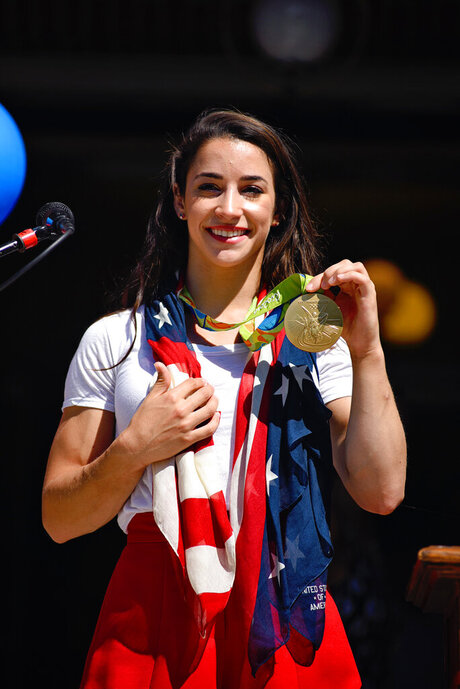 Olympics-Aly Raisman-Homecoming