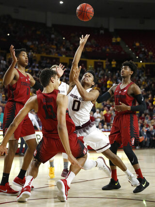 APTOPIX Stanford Arizona St Basketball