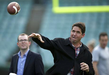Australia Sydney Cup McCaffrey Football