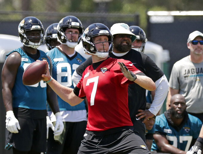 Jaguars QB Nick Foles skipping OTAs for 'personal reason'