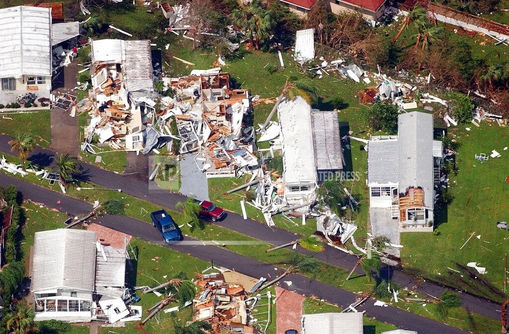 Associated Press Domestic News Florida United States Weather HURRICANE CHARLEY