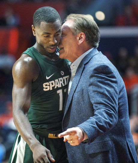 Tom Izzo, Lourawls Nairn Jr.