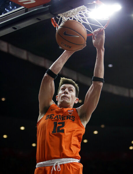APTOPIX Oregon St Arizona Basketball