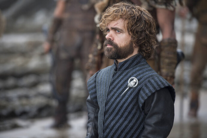 This image released by HBO shows Peter Dinklage in a scene from