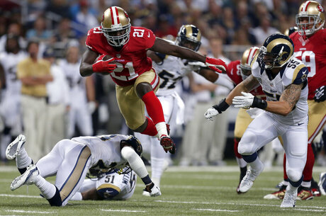 James Laurinaitis, Frank Gore