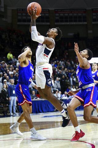 UMass-Lowell UConn Basketball