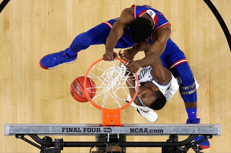 APTOPIX Final Four Kansas Villanova Basketball