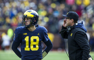 Brandon Peters, Jim Harbaugh