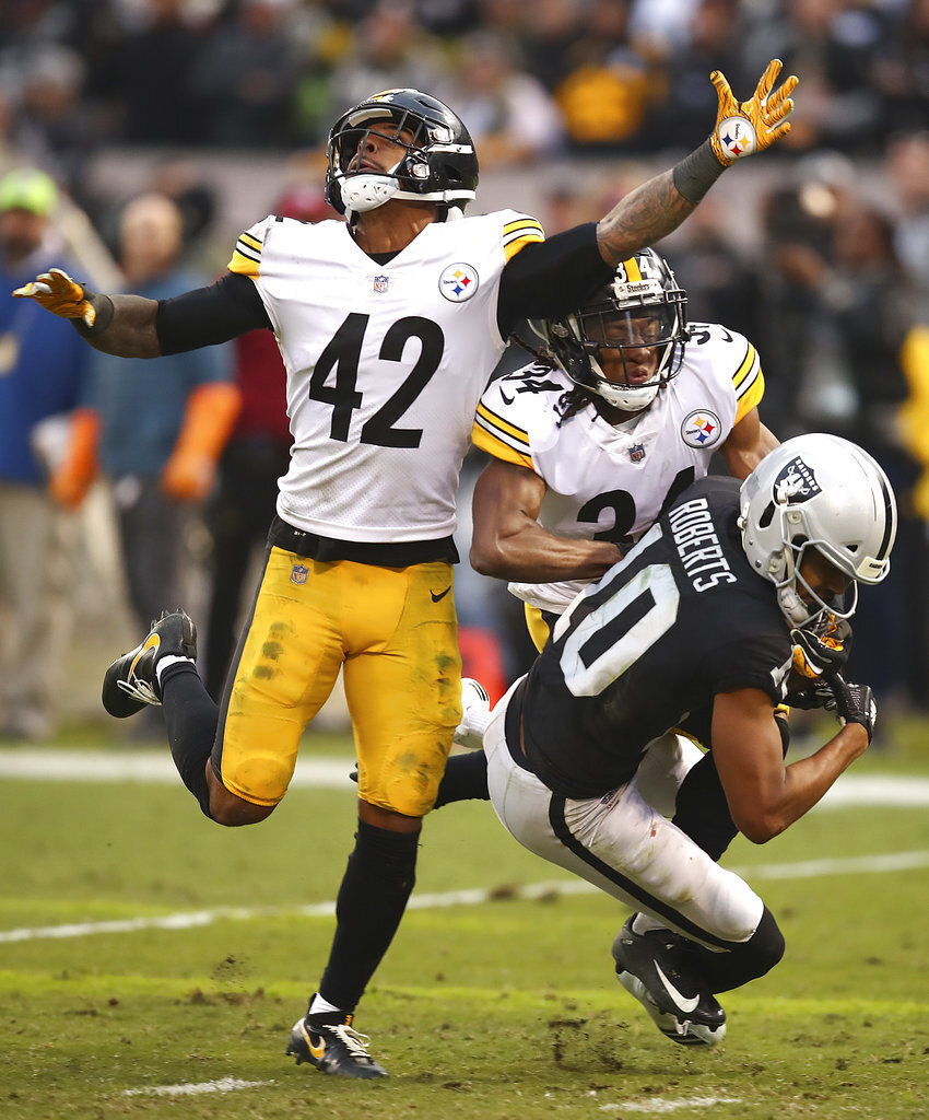 Steelers Raiders Football