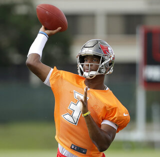 Buccaneers Winston Suspended Football