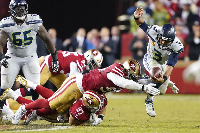 Seahawks rely on stars to deliver biggest win of season