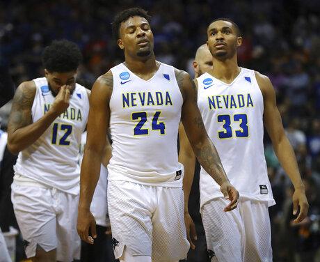 NCAA Loyola Nevada Basketball