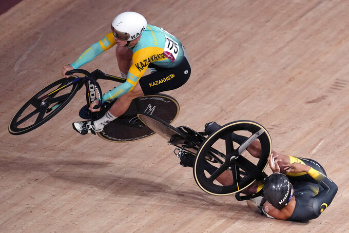 Danes win return of Madison to Olympic track cycling program