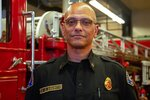 In this photo taken July 2, 2019, is Willie Barrington, the deputy chief of training for the Seattle Fire Department.
