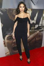 Vanessa Hudgens attends the Broadway opening night of