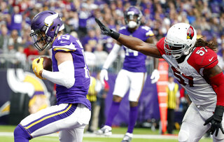 Cardinals Vikings Football