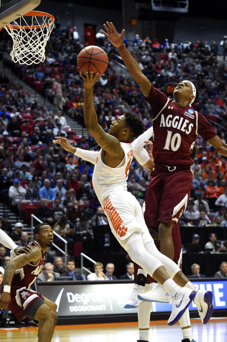 NCAA New Mexico St Clemson Basketball