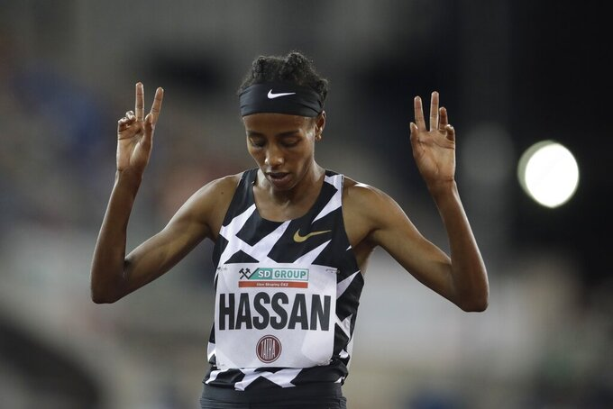 Craziness: Hassan considers running triple at Olympics