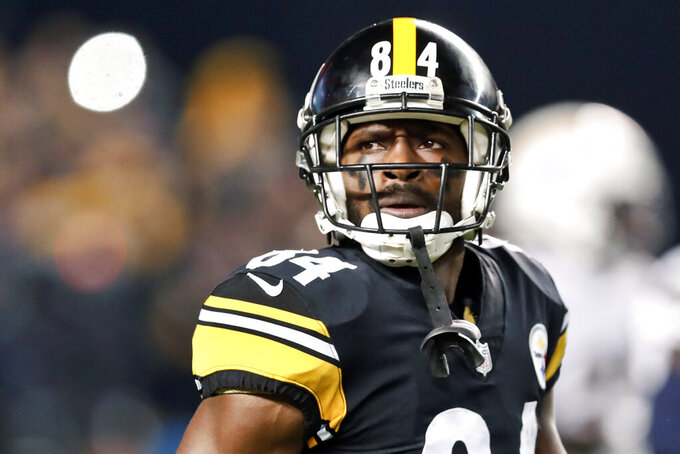 "Antonio Brown says ""too much smoke"" to return to Steelers"