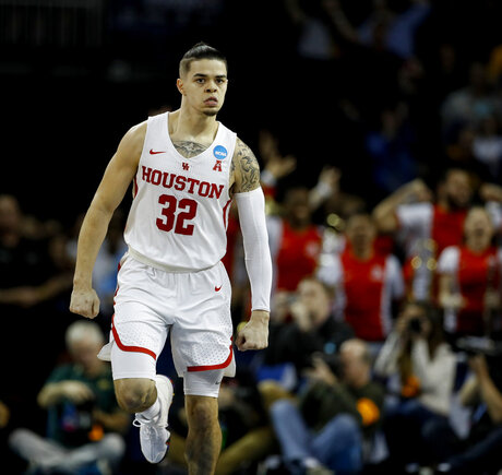 NCAA NC San Diego St Houston Basketball