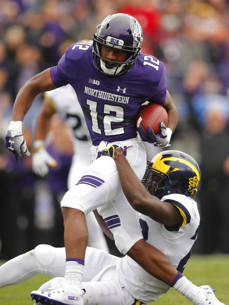 Michigan Northwestern Football