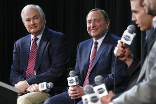 Gary Bettman, Donald Fehr, Patrick Kane
