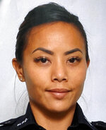 This undated photo provided by the Honolulu Police Department shows Officer Tiffany Enriquez. Enriquez was killed Sunday, Jan. 19, 2020, while responding to a call. (Courtesy of Honolulu Police Department via AP)