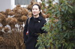 Meng Wanzhou, chief financial officer of Huawei, leaves her home to go to B.C. Supreme Court in Vancouver, Tuesday, January 21, 2020. Wanzhou is in court for hearings over an American request to extradite the executive of the Chinese telecom giant Huawei on fraud charges. (Jonathan Hayward/The Canadian Press via AP)
