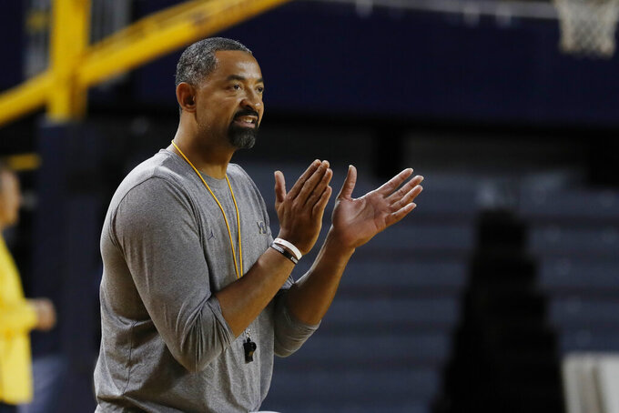 New coach Juwan Howard talks up Michigan at media day