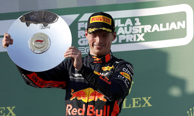 Max power: Verstappen gets podium for Red Bull and Honda