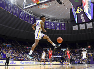 Georgia LSU Basketball