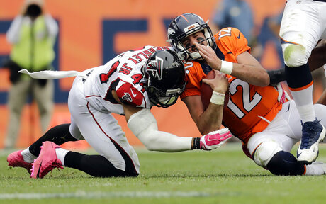 Falcons Broncos Football