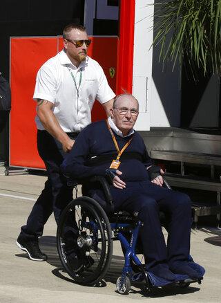 Britain F1 GP Auto Racing