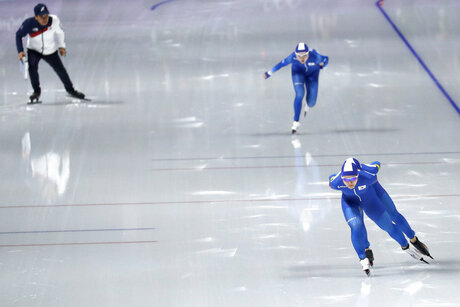 Pyeongchang Olympics Speed Skating Women South Korea Skating Dispute