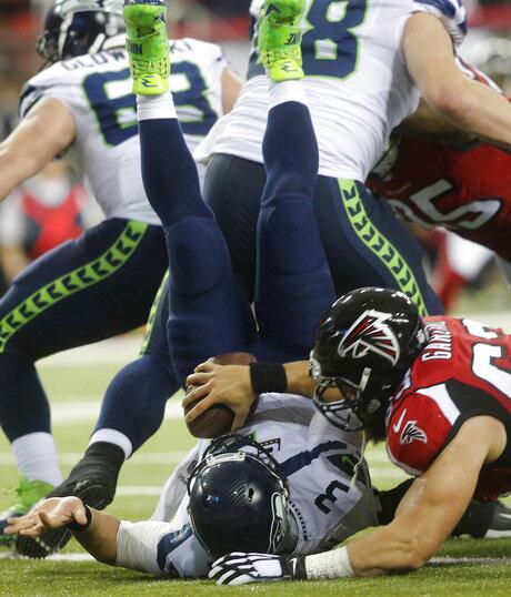 APTOPIX Seahawks Falcons Football