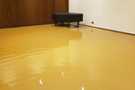 This Monday, Jan. 4, 2020 photo provided by Saint Peter's Lutheran Church shows flood damage in the music room of their church in the Manhattan borough of New York after a water main break. The Lutheran church was already reeling from the COVID-19 deaths of more than 60 congregation members during the pandemic. (Saint Peter's Lutheran Church via AP)