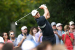 FILE - In this Aug. 25, 2019, file photo, Brooks Koepka hits from the second tee during the final round of the Tour Championship golf tournament at East Lake Golf Club in Atlanta. Koepka spent the majority of his short offseason recovering from stem cell treatment on his left knee. Koepka returns to competition at the Shriners Hospitals for Children Open, with the No. 1 player in the world giving Las Vegas its strongest field in more than 15 years. (AP Photo/John Bazemore, File)