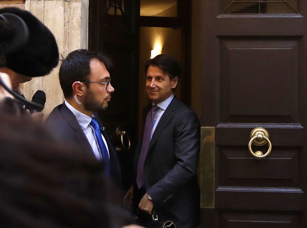 Italy's new premier reassures over European Union fears
