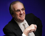 FILE - In this Friday, Oct. 7, 2011, file photo, actor Danny Aiello smiles while being photographed in New York. Aiello is among this year's inductees into the New Jersey Hall of Fame announced Wednesday, Aug. 5, 2020.  (AP Photo/Richard Drew, File)