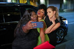 This image released by Lionsgate shows, from left, Gabourey Sidibe, Janelle Monae and Lily Cowles in a scene from
