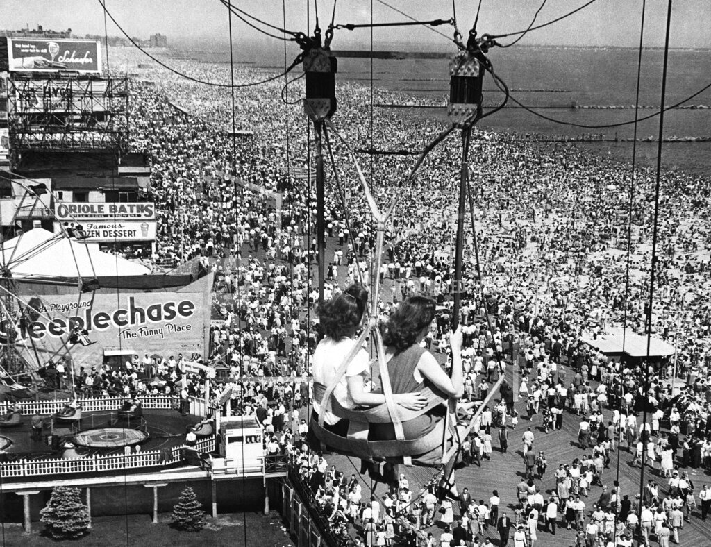 Watchf Associated Press Domestic News  New York United States APHS57761  Coney Island View