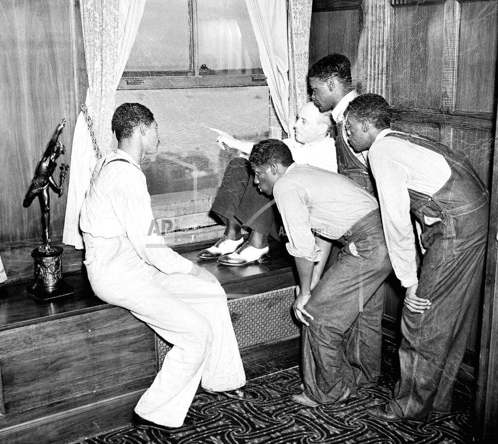 Watchf Associated Press Domestic News  New York United States APHS68128 Scottsboro Case                      1937