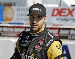IndyCar Hinchcliffe Return Auto Racing