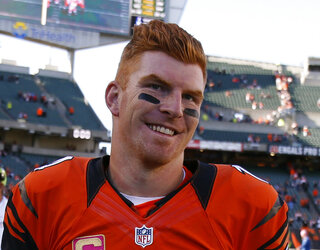 Bengals Dalton Thanks Buffalo Football