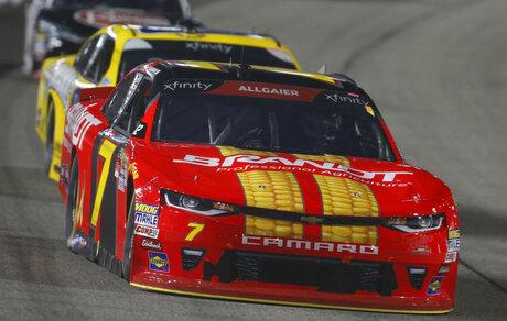 Justin Allgaier, Dale Earnhardt Jr.